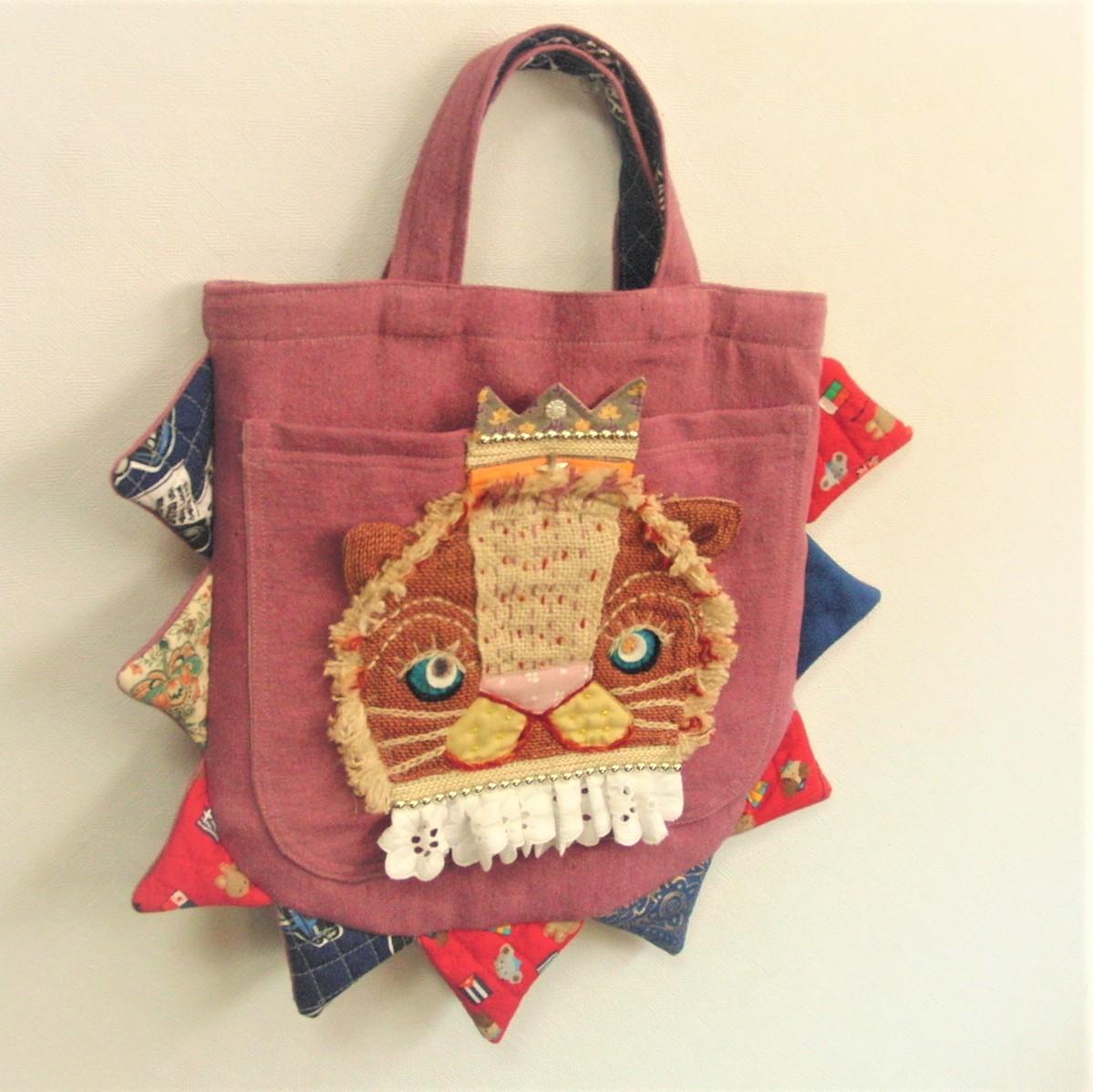 思いっきり遊び心満載の布バッグ